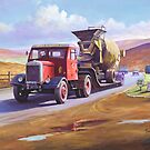 Siddle C Cook's Scammell by Mike Jeffries