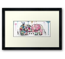 elephant confection Framed Print
