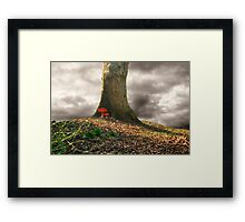 Top of the Hill Framed Print