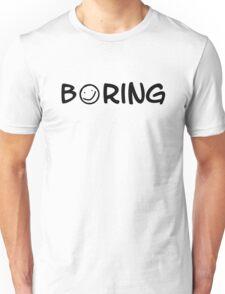 Boring black 2 Unisex T-Shirt