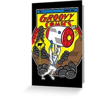 Groovy Comics Greeting Card