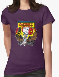 Groovy Comics Womens Fitted T-Shirt