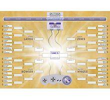 SNES Tournament Challenge!! Photographic Print