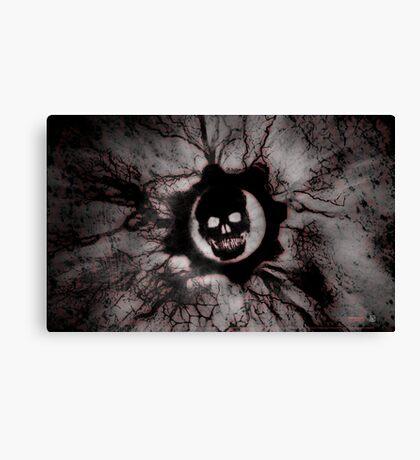 Gears of War grey Canvas Print