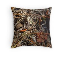 Blooming Sundew Throw Pillow