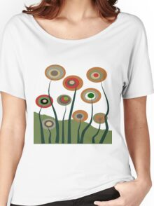 Whimsical Flowers Women's Relaxed Fit T-Shirt