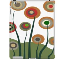 Whimsical Flowers iPad Case/Skin