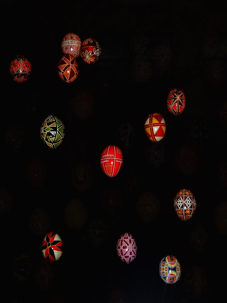 Easter Eggs - Pysanka from the Ukraine #2 by peterrobinsonjr