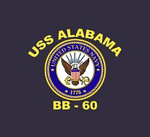 USS Alabama (BB-60) for Dark Backgrounds Unisex T-Shirt