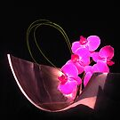 Orchid in Metal Valse by peterrobinsonjr