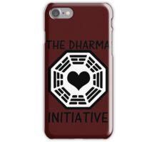 DHARMA INITIATIVE iPhone Case/Skin