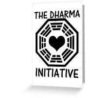 DHARMA INITIATIVE Greeting Card