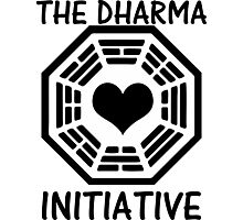 DHARMA INITIATIVE Photographic Print