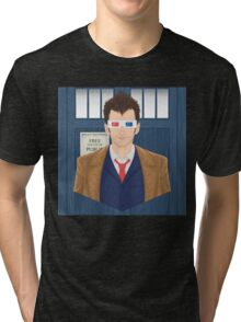 Wibbly Wobbly Tri-blend T-Shirt