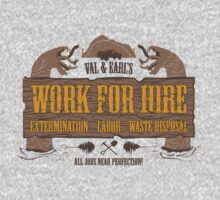 Val & Earl's Work for Hire Kids Clothes