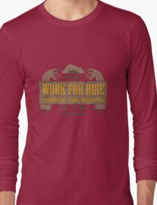 Val & Earl's Work for Hire Long Sleeve T-Shirt
