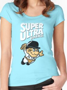 Super Ultra Violence Women's Fitted Scoop T-Shirt