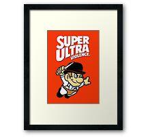 Super Ultra Violence Framed Print