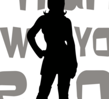 A Violent Femme Sticker