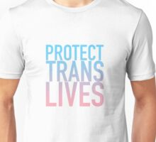 Protect Trans Lives Unisex T-Shirt
