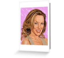 Kylie Greeting Card