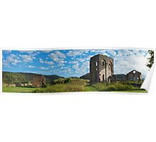 Panorama of the Blast Furnace, Lithgow Poster