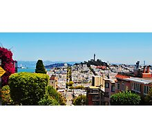 S.F Lombard St. Photographic Print