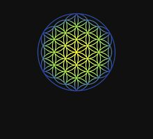 Flower of Life, Earth and Sky Unisex T-Shirt