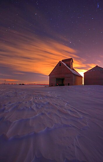 Snow Bound Barn by intotherfd