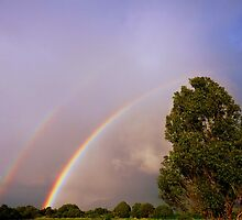 Double Rainbow On Kaua'i by Hapatography