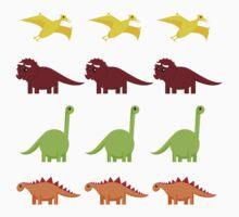 Cute Dinosaurs Kids Tee