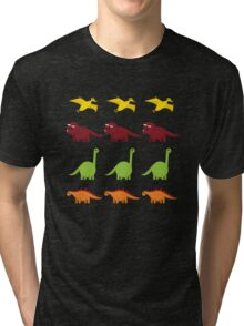 Cute Dinosaurs Tri-blend T-Shirt