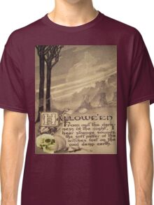 Flying Witch (Vintage Halloween Card)  Classic T-Shirt