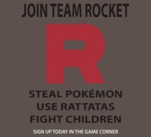 Join Team Rocket by choccywitch
