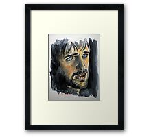 Jonas Armstrong, featured in Art Universe Framed Print