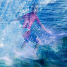 Ride those waves by Geraldine Lefoe