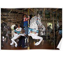 Fun On the Carousel! Poster
