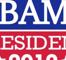 Obama President 2012 Sticker