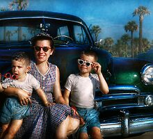 Americana - Car - The classic american vacation by Mike  Savad