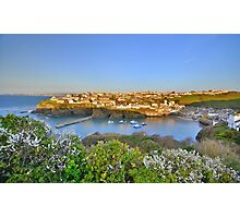 Cornwall: Evening, Overlooking Port Isaac Photographic Print