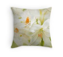 Easter Lily Dream Throw Pillow