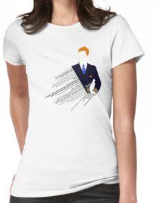 Cabin Pressure Womens Fitted T-Shirt