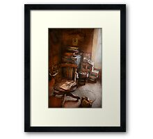 Furniture - Chair - The engineers office Framed Print