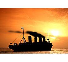 The Voyage of RMSTitanic into History Photographic Print