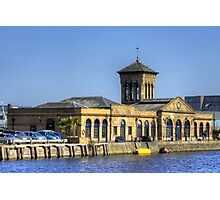 Prince of Wales Pumping Station Photographic Print