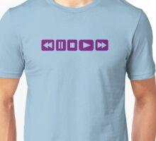Music Player buttons Unisex T-Shirt