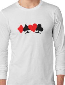 Poker cards Long Sleeve T-Shirt