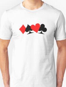 Poker cards T-Shirt
