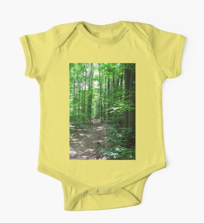 Path Through the Forest One Piece - Short Sleeve