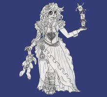 Alice in Wonderland - Black and White T-Shirt